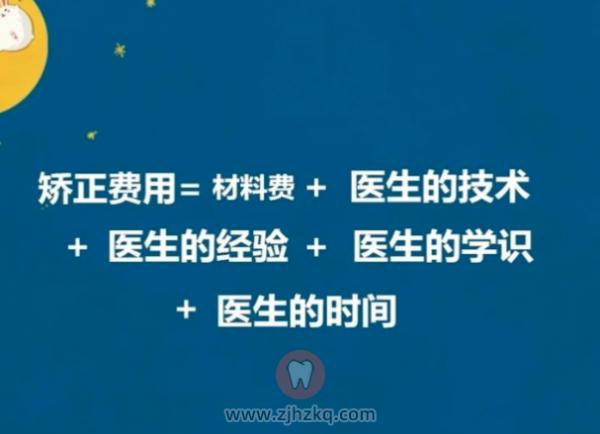 杭州牙齿矫正器价格多少钱?